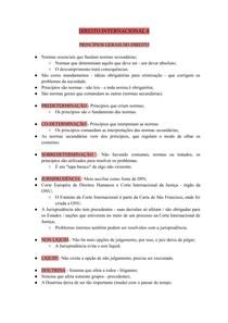 DIREITO INTERNACIONAL 4 - PRINCÍPIOS GERAIS DO DIREITO