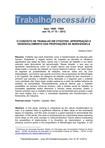 CENCI, A. O conceito de trabalho em Vygotsky: apropriação e desenvolvimento das proposições de Marx e Engels
