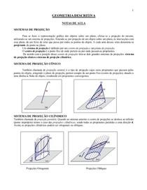 Apostila de Geometria Descritiva