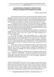 KLEIMAN, Angela. alfabetização e letramento