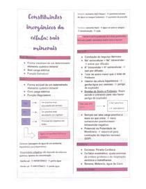 Sais Minerais - Compostos Inorgânicos