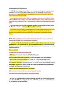 7 Constipação e Síndrome do Intestino Irritável