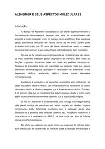 ALZHEIMER E SEUS ASPECTOS MOLECULARES (Salvo Automaticamente)