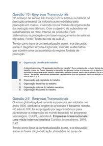 UNINTER   Rel. Internacionais   Empresas Transacionais e Sistema Internacional Financeiro   APOL 1 (2)