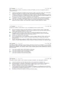 Avaliando Dir Processual do Trabalho 1 e 2