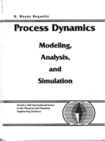 Process Dynamics, Modeling, Analysis and Simulation - Bequette - 3