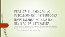 AULA 2  Complementar   prática e inserção do psicólogo em hospital