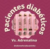 Paciente diabético versus Adrenalina