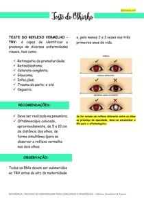 TESTE DO OLHINHO (Exames de triagem neonatal - parte 3)