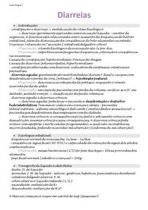 Semiologia - Diarreias