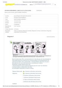 Revisar envio do teste  QUESTIONÁRIO UNIDADE II – 6595 ...