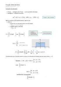 Função delta de Dirac