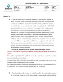 AV1 - Direito Penal IV
