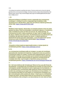 justificativas da matéria bhe conteúdo 5 mitose e meiose