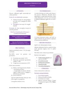Resumo - Abscessos do Periodonto