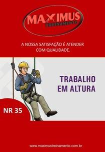 APOSTILA NR 35 - Trabalho em Altura