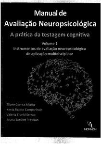 manual de avaliação neuropsicológica - a pratica da testagem cognitiva
