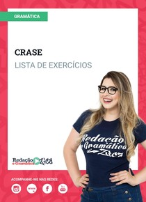 Crase - Exercícios - Profa Pamba - #ExclusivoPD