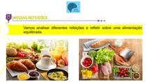 alimentos de origem animal e vegetal