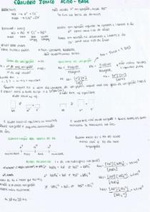 Equilíbrio Iônico ácido - base