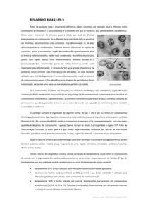 Introdução Processos Biológicos