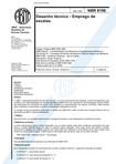 NBR 8196 - Desenho técnico - Emprego de Escalas