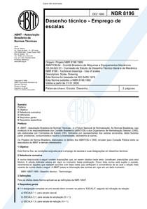 Norma ABNT para desenho tecnico em escala NBR 8196 -AUTOCAD