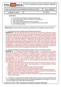 AVALIAÇÃO 02 - aula 01 - BENEDITO DO SOCORRO OLIVEIRA DA COSTA