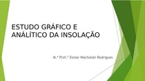 Aula 10_09_19 - Estudo Gráfico e Análitico da Insolação