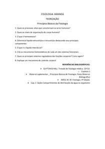 Mecanismos e osmose LIC LEC