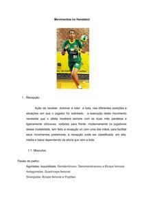 ESTUDO DE DOIS MOV DO HANDEBOL