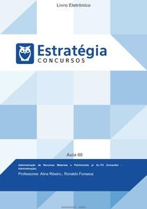 Administração de Recursos Materiais e Patrimoniais Consultor Administrativo