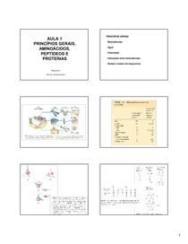 1 - Introdução Aminoácidos e Peptídeos