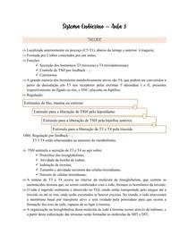 Fisiologia Endócrina - Tireóide e paratireóide