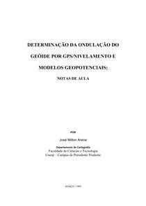 Geoide/Geodesia