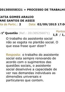 Av Processo Trasersocial2 Serviço Social E Processos De Tr