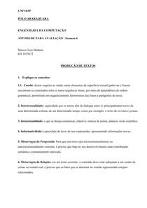 Produção de Texto   Sem 3 Univesp