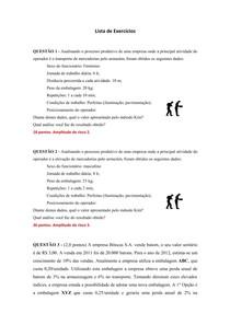 Lista de Exercícios A1 Mov e Arm