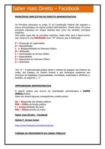 Direito Administrativo (Macetes)