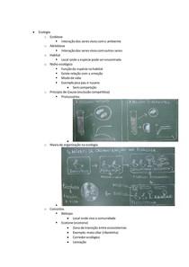 resumo de ecologia - biologia