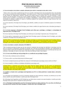 EXERCÍCIOS EDs respondidos Psicologi Social