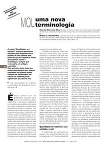 Mol - Uma Nova Terminologia