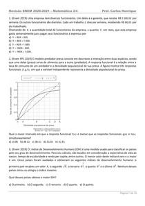 Revisão ENEM - 2 de 4