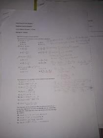 Lista Derivada Cálculo II Andre Almeida