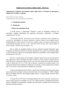 DIREITO FINANCEIRO E TRIBUTÁRIO – PONTO 16.