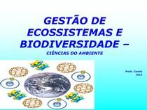 Ciências do Ambiente - Aula 3 - Eco - Cadeia e Ciclos
