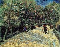 Vincent Willem van Gogh-Vermelho-Castanhas-in-the-Público-Park-a-Arles