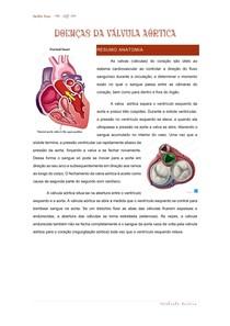 Doenças da Válvula Aórtica - prof Antonio Osman
