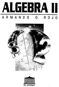 Algebra II (álgebra lineal)   Armando Rojo