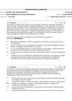 ADMINISTRAÇÃO DE MARKETING SIMULADO 3